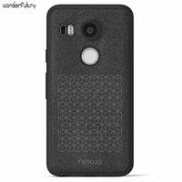 High Quality Official Original For LG Nexus 5X 6P Leather TPU Back Phone Case Cover For