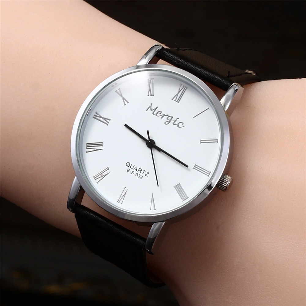Новый Дизайн модные часы Для женщин циферблат Уникальный наручные часы 2018