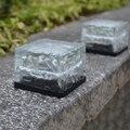 Lâmpada Solar Do Jardim LEVOU À Prova D' Água Ao Ar Livre de Gelo Luz Subterrânea Gramado Decorativo Lâmpadas de Iluminação Da Paisagem
