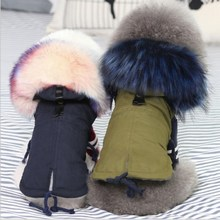 Luxury Black Pet Dog Coat Winter Very Warm Small Dog Clothes For Chihuahua Soft Fur Hood Puppy Jacket Clothing цена