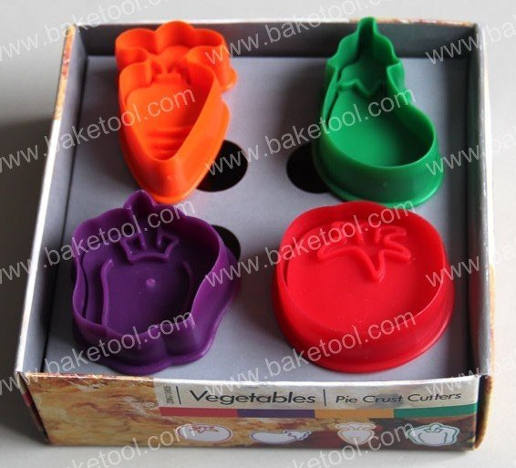 12sets/lot Vegetable plunger cutter set, cake decorations, bake tool, pastry tool, cake mould Wholesale&Retail