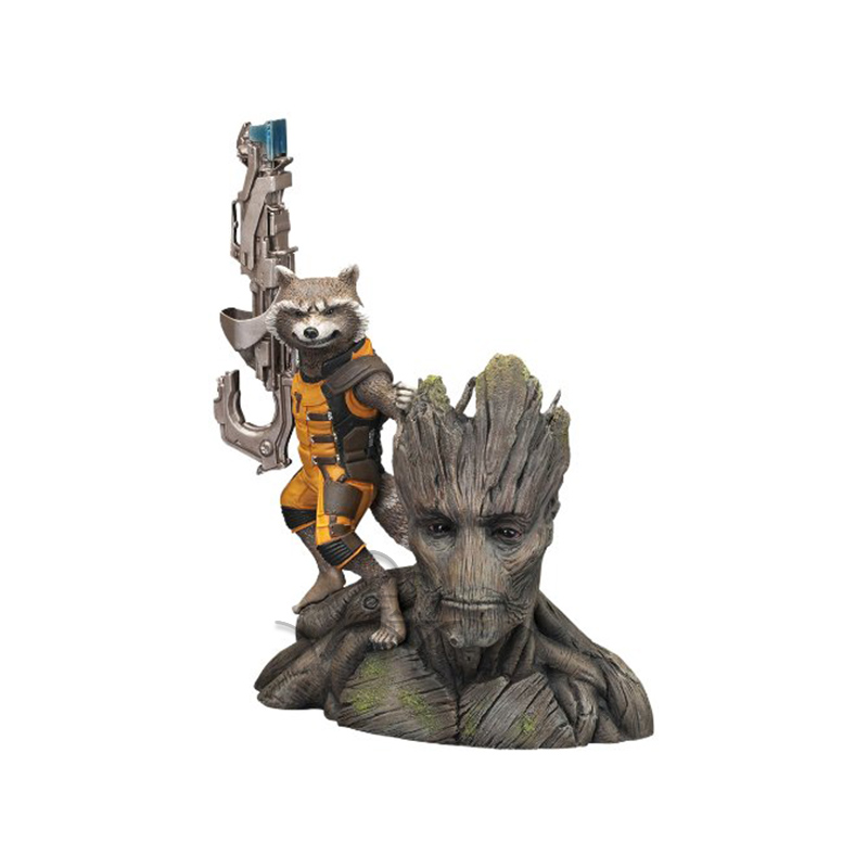Guardians of the Galaxy Star Lord Baby Tree Man Gamora Drax the Destroyer Rocket Raccoon PVC Action Figures Toys цена