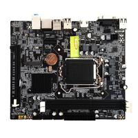 H110 PC Motherboard LGA1151 DDR3 Double Channel Support 16 Graphics Card DDR3 CPU Main Board for Intel i7/i5/i3/Pentium/Celeron