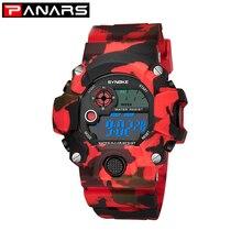PANARS Military Sports Watches G Men Alarm Shock Waterproof Watch LED Back Light Shock Digital Wristwatches Relogio Masculino