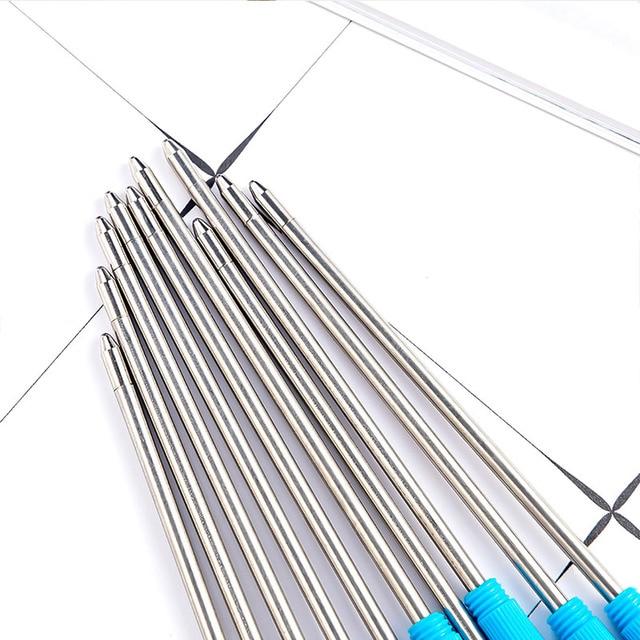 30pcs/lot Diamond Crystal Metal Refills 0.7mm Special Refills for Roller Ball Pen Ballpoint Pen 7CM Length Office School Supply 3