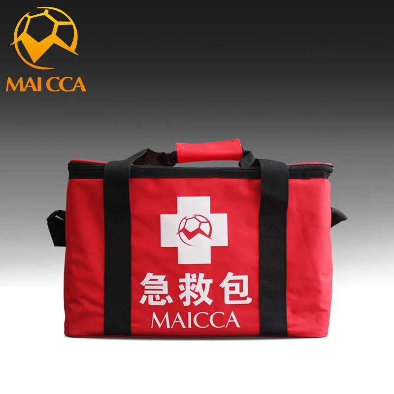 цена Outdoor Sports Emergency medical kits Soccer training bag for Football Basketball match red first-aid travel hosptial bags