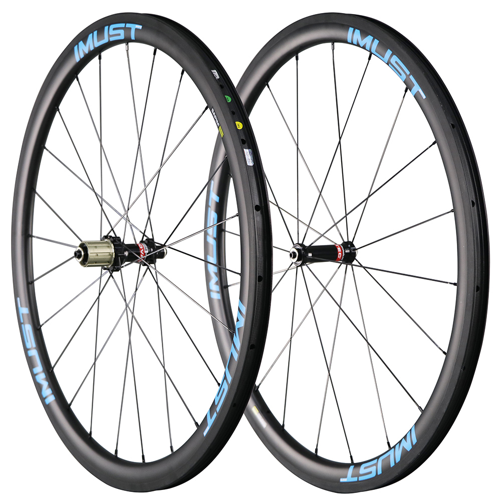 Fast 38 700C carbon wheels 38mm aero U shape Clincher Tubeless road bike wheel Chinese rims