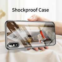 De luxe Ultra Mince En Silicone Antichoc Souple Transparent étui en polyuréthane thermoplastique étui pour iphone X Xr XS Max 8 7 6 Plus étui pour apple Housse Coque