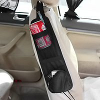 Car Auto Seat Side Multi Pocket Organizer Holder Travel Storage Hanging Bag Phone Drink Container Car Seat Pocket ME3L