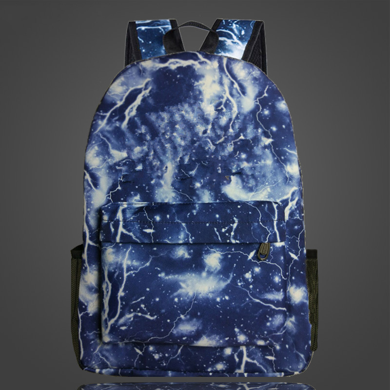 Fashion Game Backpack Night Luminous Book Bags Backpack School Bag Boys Girls Schoolbags Teenagers Printing Bagpack Mochila