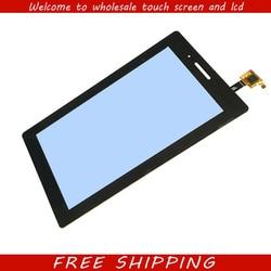 Для нового Lenovo TAB 3 Essential 710F Tab-3710F TB3-710F Замена сенсорного экрана дигитайзер стекло черный 7-дюймовый Бесплатная доставка