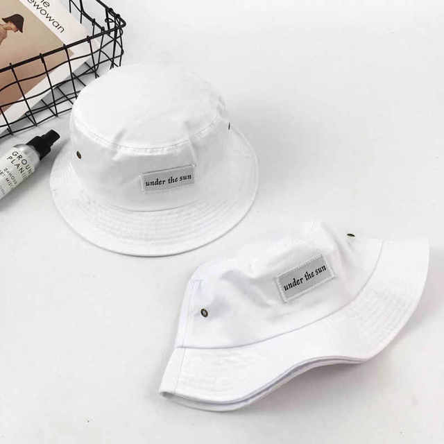 03218966 Купить Аксессуары   2017 Fashion Bucket Hat Fashion Letter sun ...