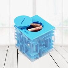 77f5c52316f Envío Directo chico cubo 3D rompecabezas laberinto dinero laberinto caja de  monedas cubo rompecabezas ahorro hucha cerebro torme.