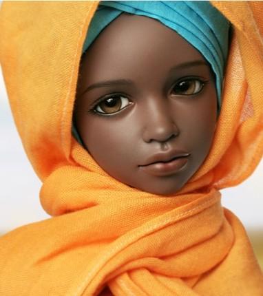 BJD кукла 1/4 девочка ребенок дать глазное яблоко подарок кукла