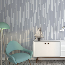 Modern Abstract Strip Wallpapers Home Decor Geometric Wall Paper Roll for Bedroom Living Room Walls Papel Murals Contact Paper цена