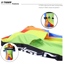 X-Tiger Cycling Set Mans Racing Bicycle Clothing Pro MTB Racing Bike Clothes Cycling Jersey