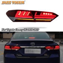 Car styling Tail Lights For Toyota Camry 2015~2018 Led Tail Lights Fog lamp Rear Lamp DRL + Brake + Park + Signal lights все цены