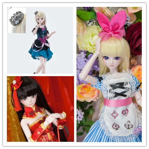 1/4 50cm bjd SD dolls BJD Blyth doll Girl Joint body doll baby reborn girl