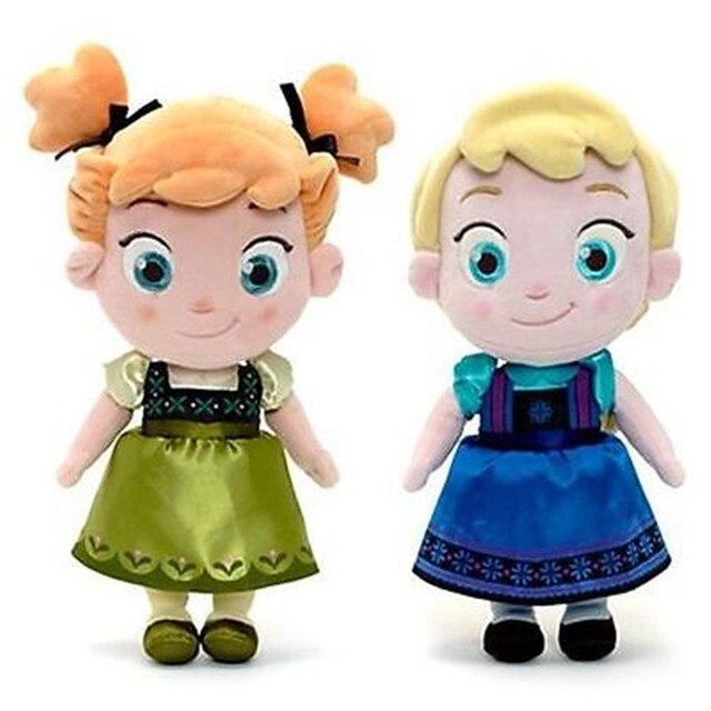 disney frozen elsa anna plush doll 30cm 11 9 princess doll toy