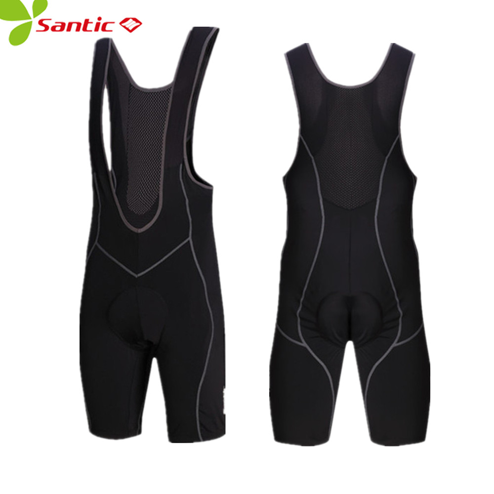 где купить Santic Spring Men Cycling Bib Shorts Gel Padded Men's Bib Shorts Cycling Bicycle Bike Bib Shorts Riding 3D mtb cycling Shorts по лучшей цене
