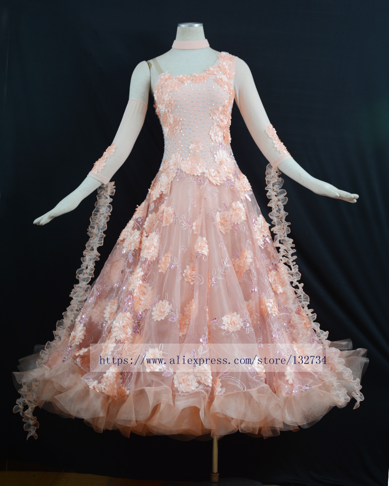 e2bcf5c53 New Style ballroom Standard Dance Dress Waltz Competition Dress lady Ballroom  Dance Dress. NEW!!