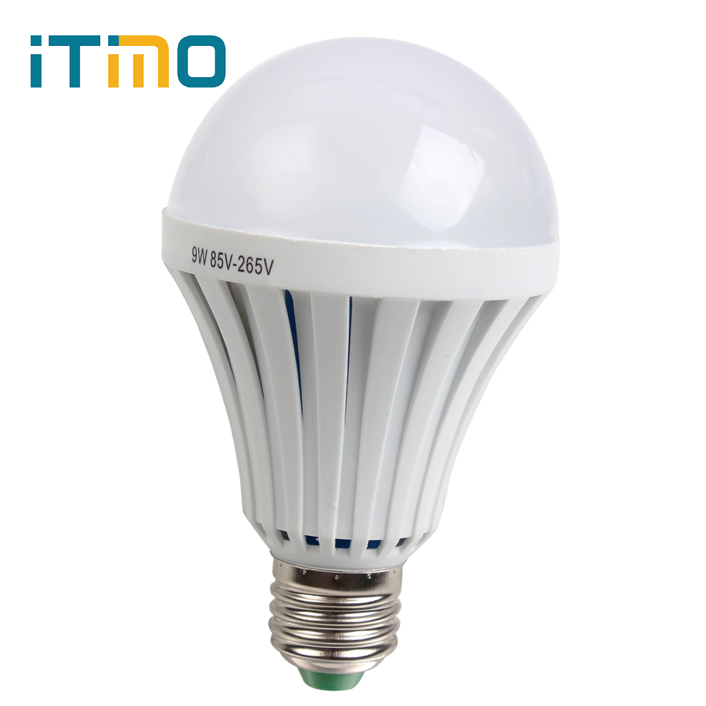 Outdoor Lighting For Camping hunting Rechargeable Energy Saving E27 9W Intelligent Magical Lamps Emergency Light LED Bulb