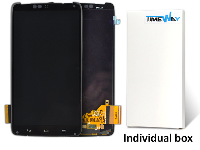 10pcs Lcd Display And Touch Screen Digitizer For Motorola Droid Turbo Xt1254 Xt1255 Phone Parts Free Dhl