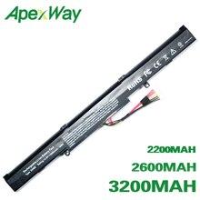 ApexWay A41-X550E батарея для ноутбука Asus A450 F450J X450 A450C F450V X450E A450E F550D X450J A450J F550DP X450JF A450JF K550D