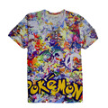Women/Men Cartoon print 3d T Shirt Pokemon cartoon 3d funny t shirts girls top tee  short sleeve tops casual t shirt plus size