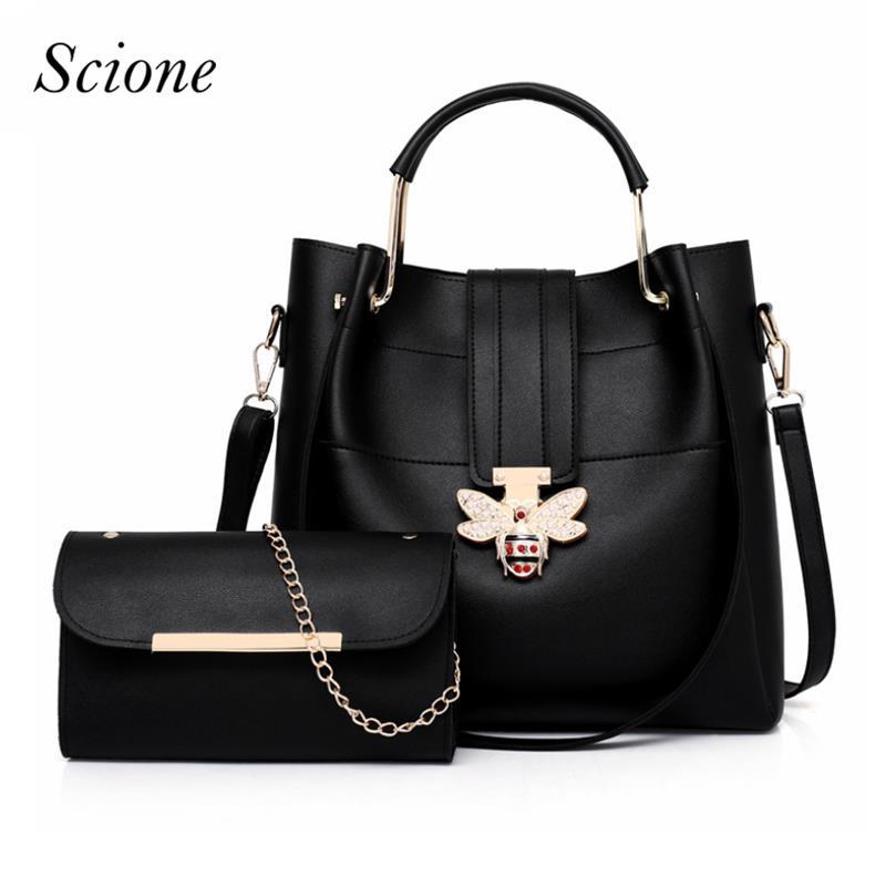 2018 purses and handbags diamond bee clasp women pu leather handbags bolsa feminin fashion handbag Shoulder Bags for women H033 сумка handbags for women pu versatile handbag