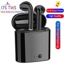I7s СПЦ мини беспроводные наушники bluetooth наушники с загрузочной коробки Спортивная гарнитура Android Audifonos для всех смарт-мобильный телефон