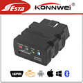 New Konnwei KW902 ELM327 Bluetooth 4.0 OBD2 CAN-BUS Scanner works on ansroid/IOS/windows kw 902 ELM 327 BT Adapter