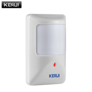 Image 2 - KERUI P812 New Wired Infrared Motion Sensor Alarm Detector for GSM Security Burglar Alarm Wired Zones Home alarm system