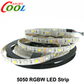 LED Strip 5050 RGBW DC12V 60LED/M 5m/lot RGB+White / RGB+Warm White Flexible LED Light.
