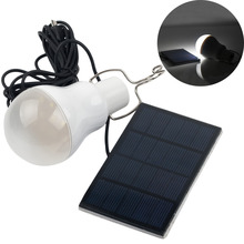 Hot 15w Solar Lamp Powered Portable Led Bulb Lamp Solar Energy Lamp led Lighting Solar Panel Camping light Travel Used 5-6hours
