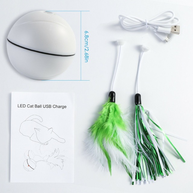 Rechargeable Rolling Ball for Cats 5