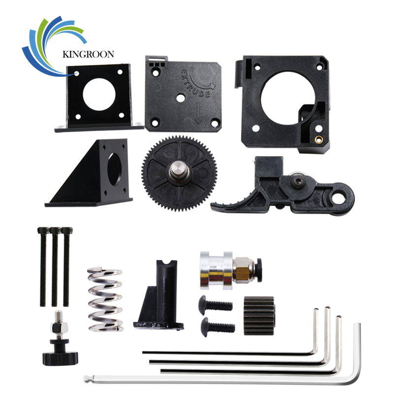 KINGROON Titan Extruder Full Kit With Wrench For 3D Printer Support Both Direct Drive Bowden Mounting Bracket 3D Printer Parts 2