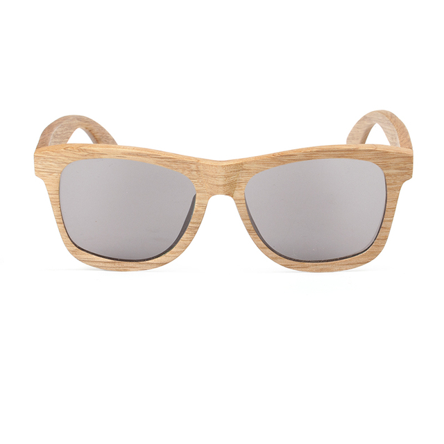 BOBO BIRD Sunglasses Men Wood Bamboo Polarized Glasses With UV 400 Protective Eyewear in Wooden Gift Box C-AG007