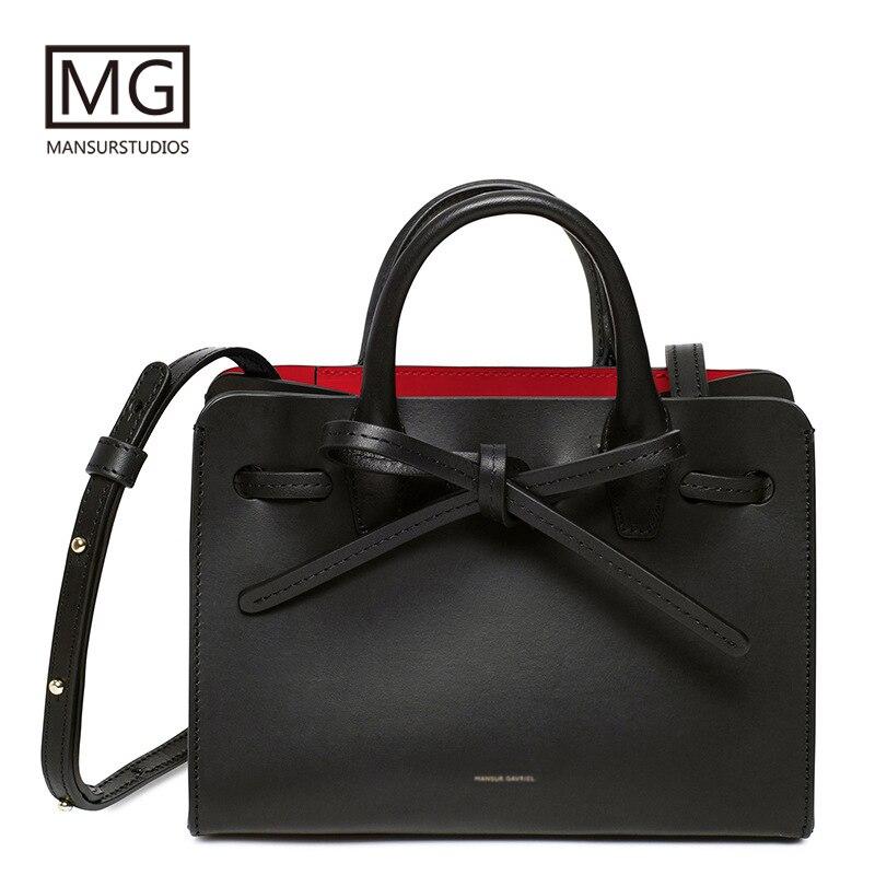 Mansurstudios Women Split Leather Casual Tote Bag, Mansur  Lady Leather  Sun Bags,gavriel Girl Handbag,free Shipping