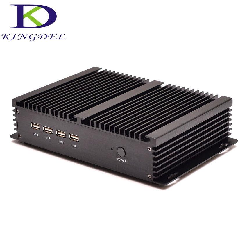 2016 Hot 4G RAM+500G HDD Intel Celeron 1037U dual core Fanless Industrial Dual LAN mini pc,4 RS232 COM port USB 3.0,HDMI NC250  8g ram 1t hdd fanless industrial mini linux pc computer intel celeron 1037u dual core 4 rs232 come port 2 gigabit lan usb 3 0