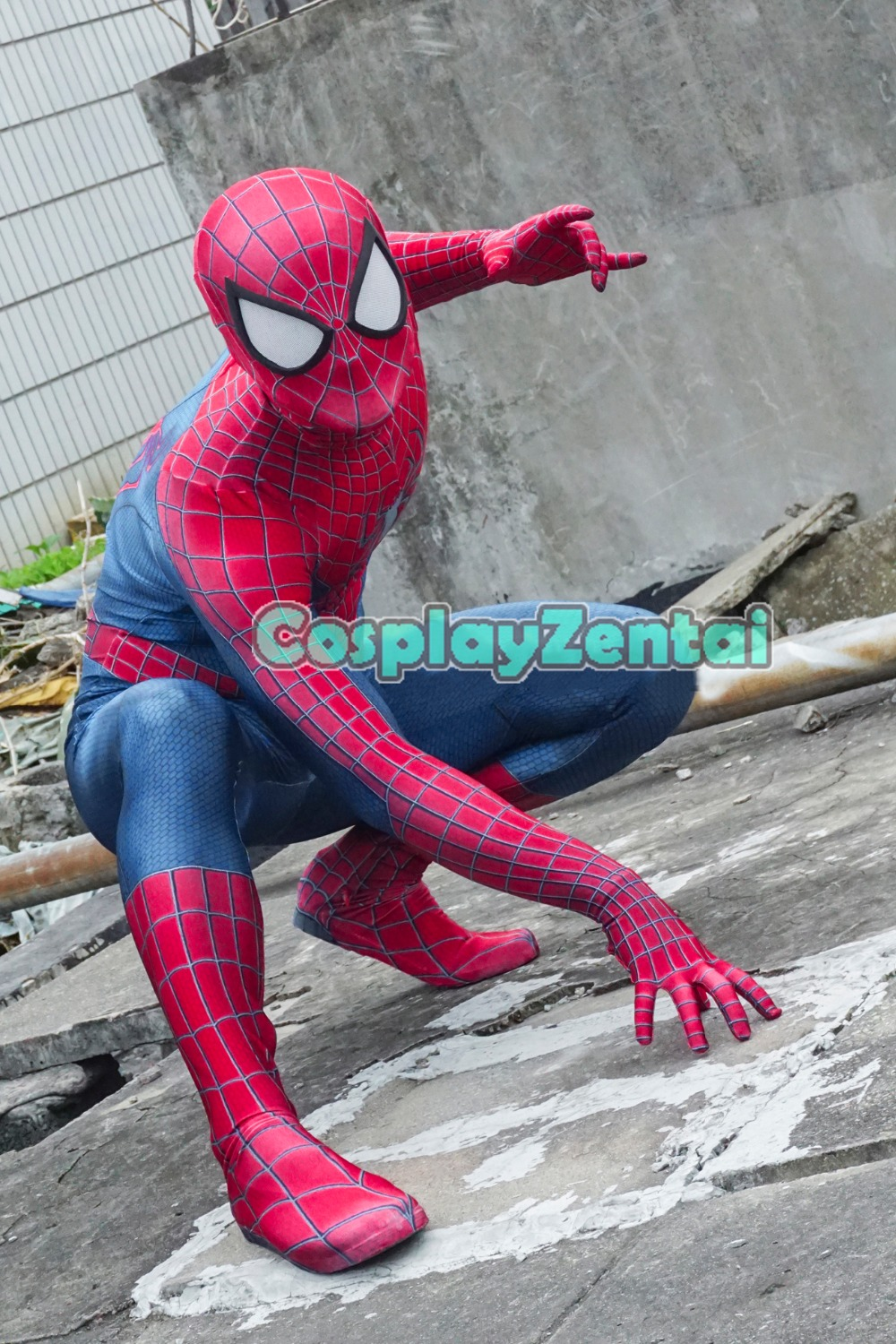 3D Printed Amazing Spiderman 2 Cosplay Costume Spiderman Costume Spandex Zentai Bodysuit Spiderman Superhero Costume
