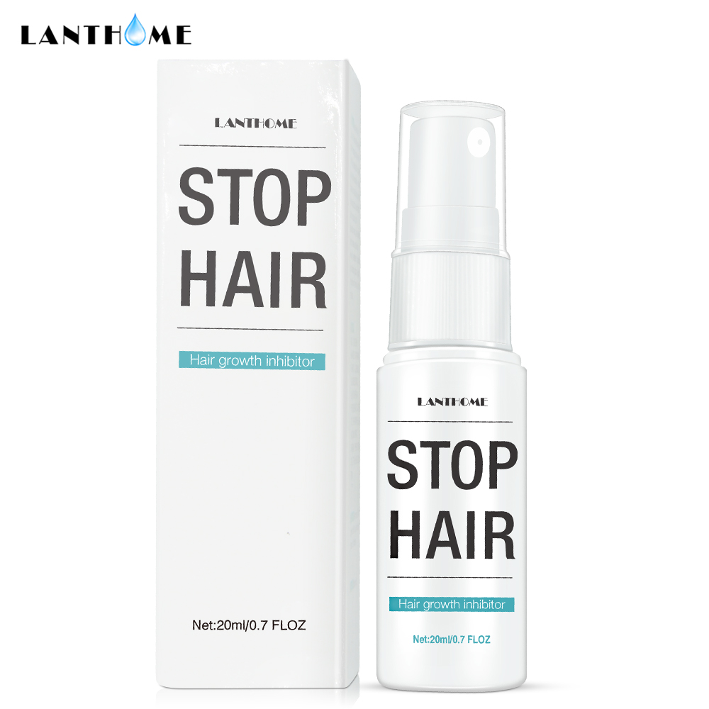 Permanent Stop Hair Growth Inhibitor Pubic Hair Repair Smooth Body Hair Removal Treatment Spray Facial Hair Remover for Women 1