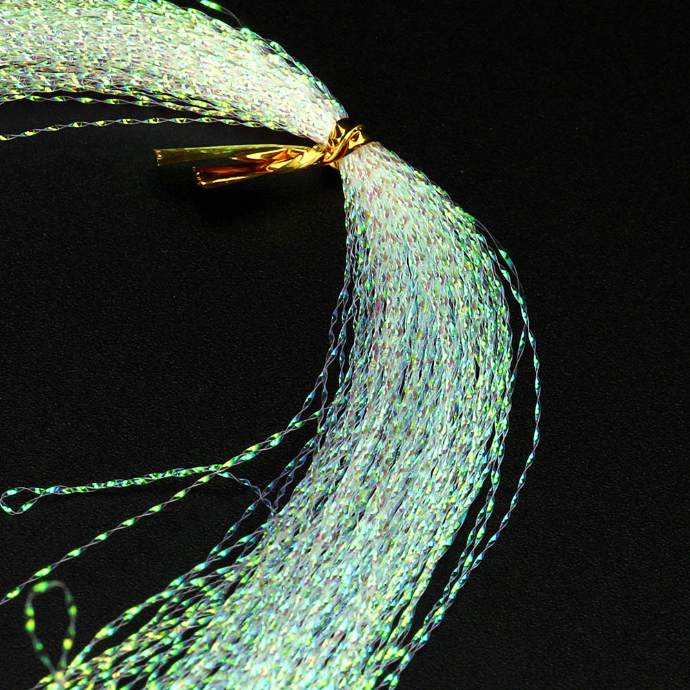 Fishing-Lines Fly-Tying-Material Crystal Flash 100pcs Perimedes -Y50 Holographic Attract
