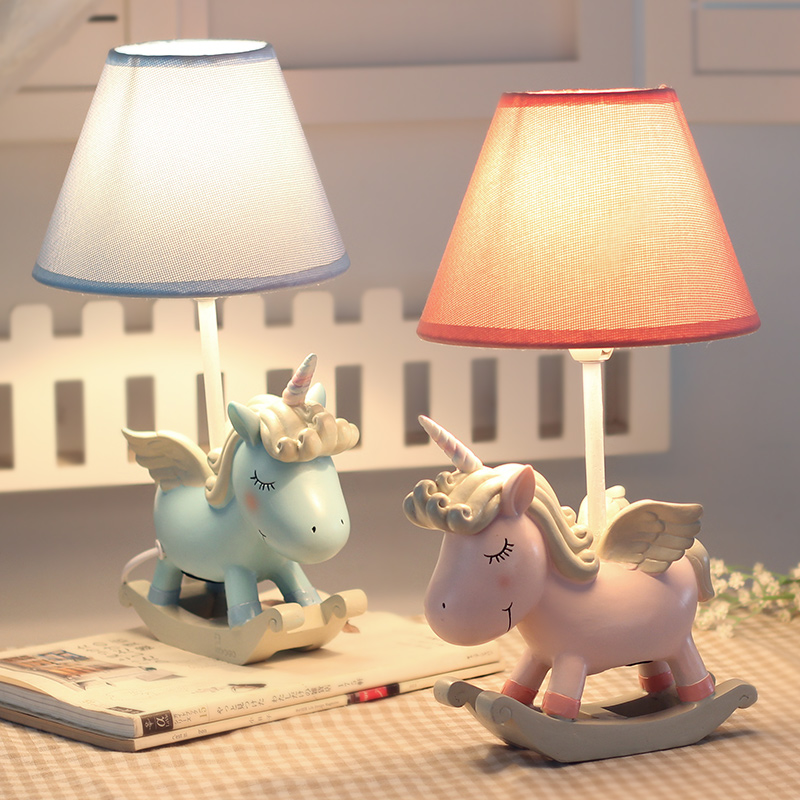 Unicorn Decoration Night Light Adjustable Desk Lamp With Touch Dimmer Home Decoration Bedside Desk Lamp Valentine birthday party