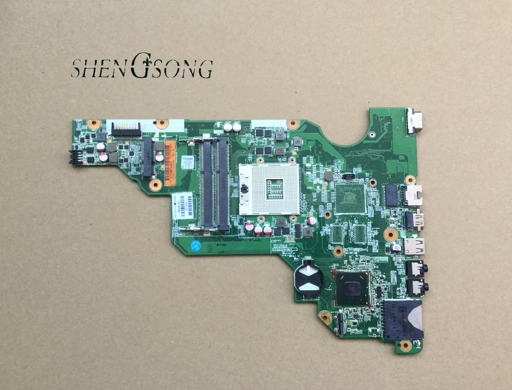 686280-501 686280-001 free shipping for hp compaq CQ58 CQ58-2000 laptop motherboard SLJ8F DDR3 100% test good free shipping orginal 630973 001 for hp for envy17 laptop motherboard daosp9mb8do hm67 ddr3 ait 100