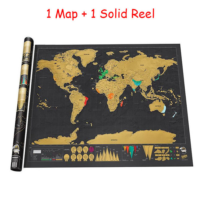 Online shop new 1 piece black deluxe travel map travel tracker online shop new 1 piece black deluxe travel map travel tracker poster world map travelogue globe map gift for travelers aliexpress mobile gumiabroncs Choice Image
