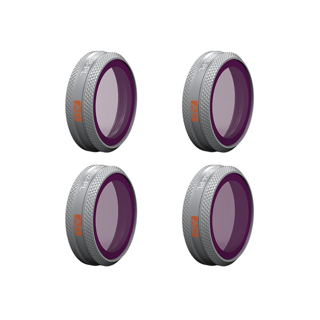 PGYTECH Advanced Version 4Pcs ND/PL Camera Lens Filters Set for DJI MAVIC 2 ZOOM - ND8/PL ND16/PL ND32/PL ND64/PL Filter Updated