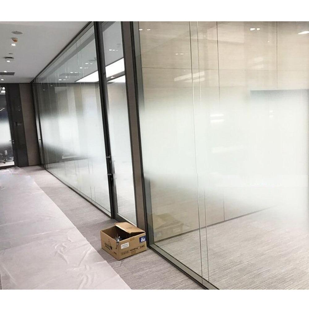 Auto-adhésif Film de Fenêtre de Film En Verre Dépoli Porte Coulissante Salle De Bains Fenêtre Autocollants Translucide Opaque Gradient White152 x 500 cm