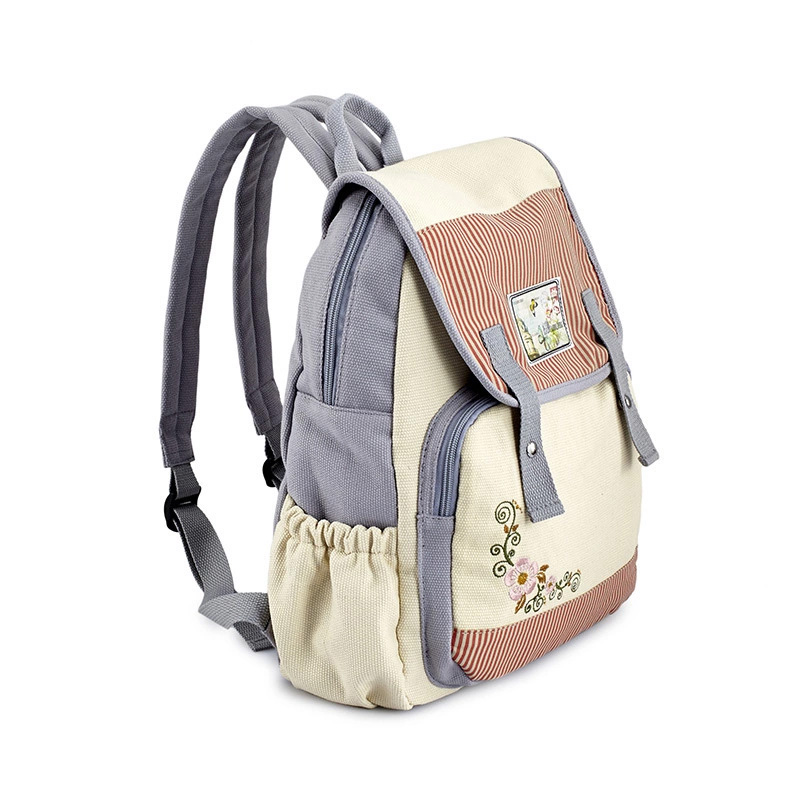 710ad6ac8892 Floral Embroidery Backpack Female Large Canvas Backpacks for Women Cute  Youth Schoolbag for Teenage Girls Book Bag Bagpack Woman-in Backpacks from  Luggage ...