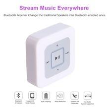 Mini Receptor Bluetooth Auriculares 4.1 Adaptador de Receptor de Audio Inalámbrico para el Streaming de Música Kit de Coche Manos Libres Estéreo Doméstico